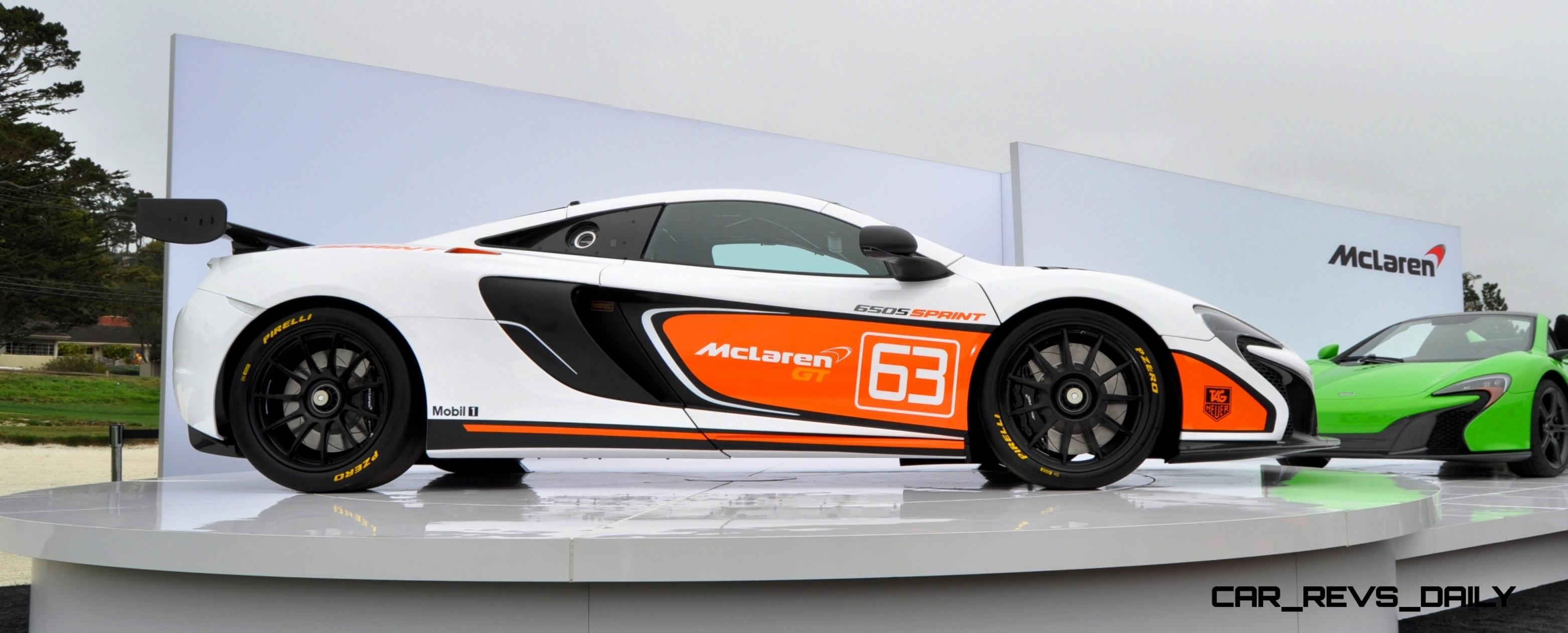 Updated With 78 Pebble Beach Debut Photos - 2015 McLaren 650S Sprint
