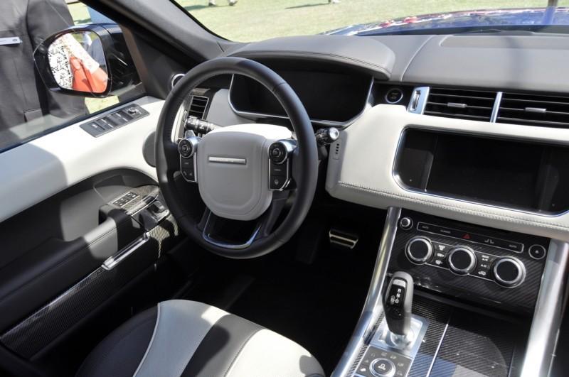 Car-Revs-Daily.com 2015 Range Rover Sport SVR 8