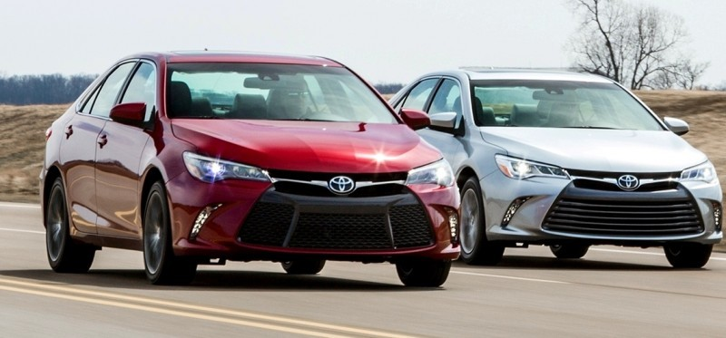 Car-Revs-Daily.com 2015 Toyota Camry Redesign Delivers Greater Chassis Strength, Wider Stance and More LED Style 46