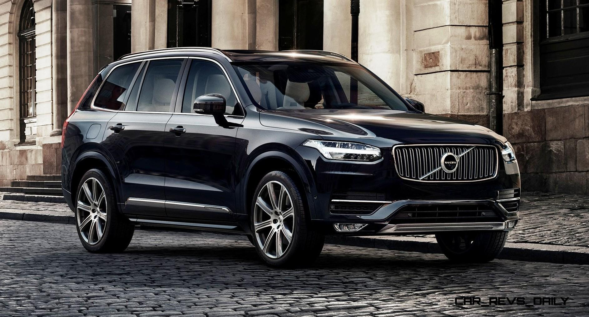 2015 volvo xc90 world premiere pricing from 48 000 fabulous hybrid tech and cabin innovations. Black Bedroom Furniture Sets. Home Design Ideas