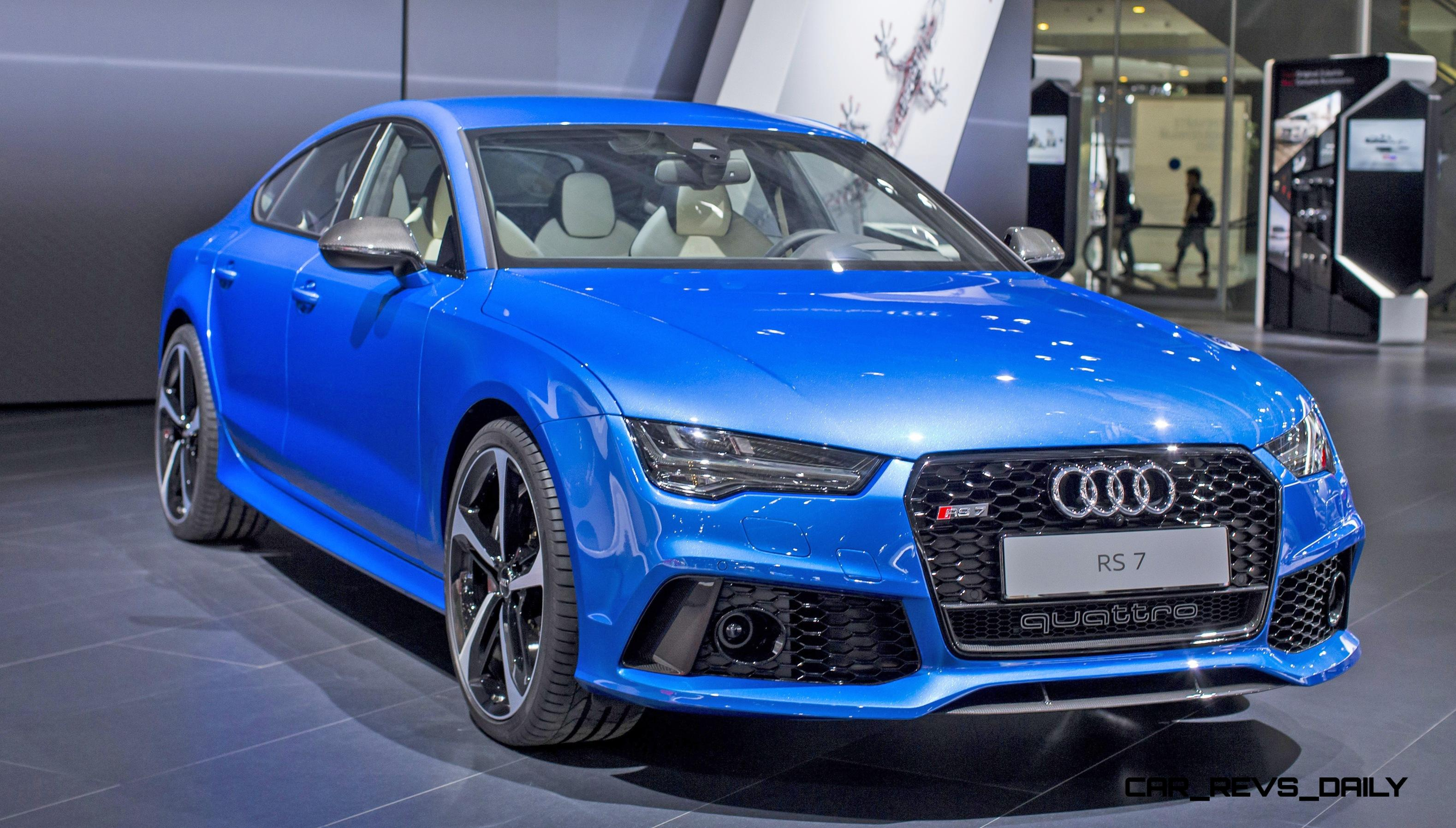 2017 Audi Rs 7 Blue 200 Interior And Exterior Images
