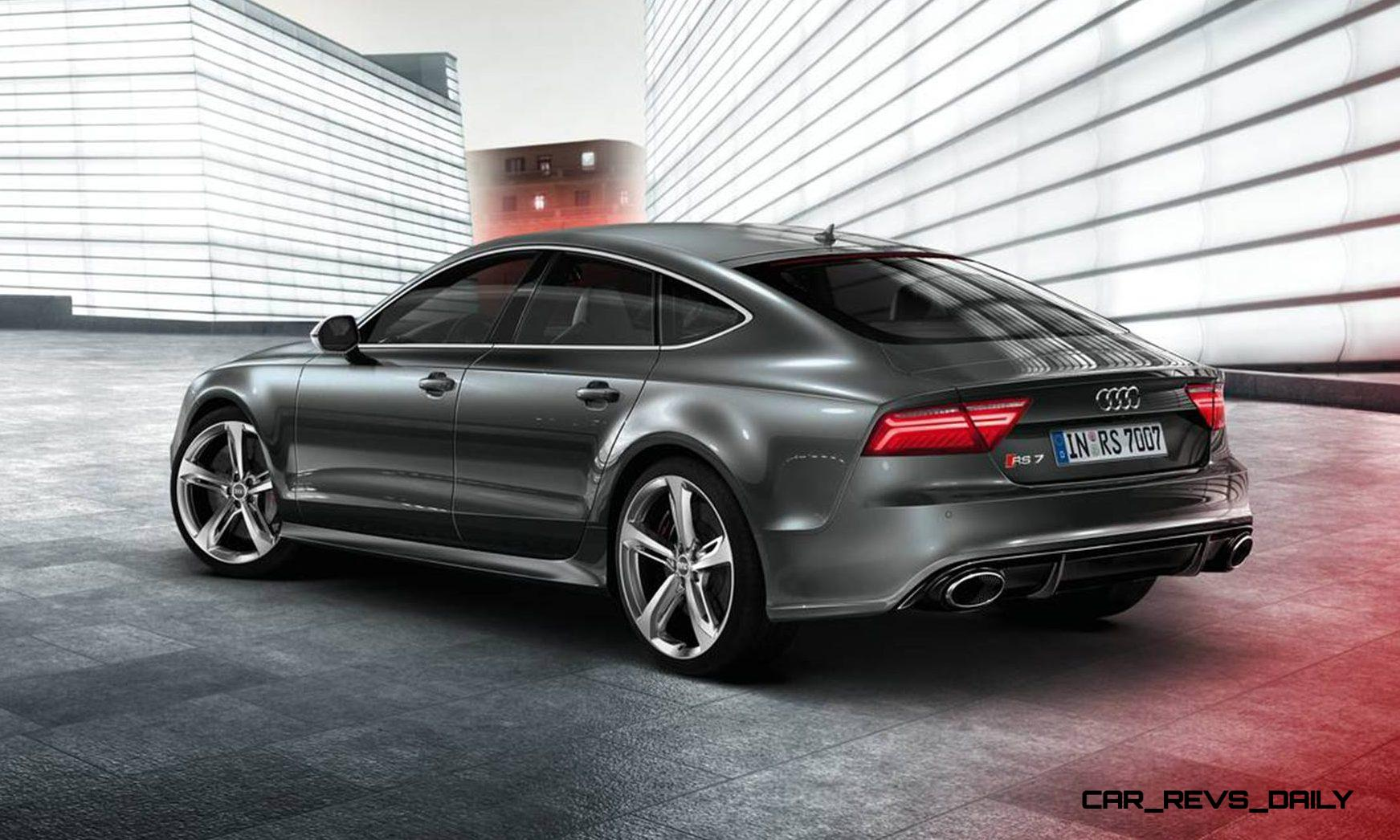2016 Audi Rs7 Makes Moscow Debut With Updated Leds Extra Power And
