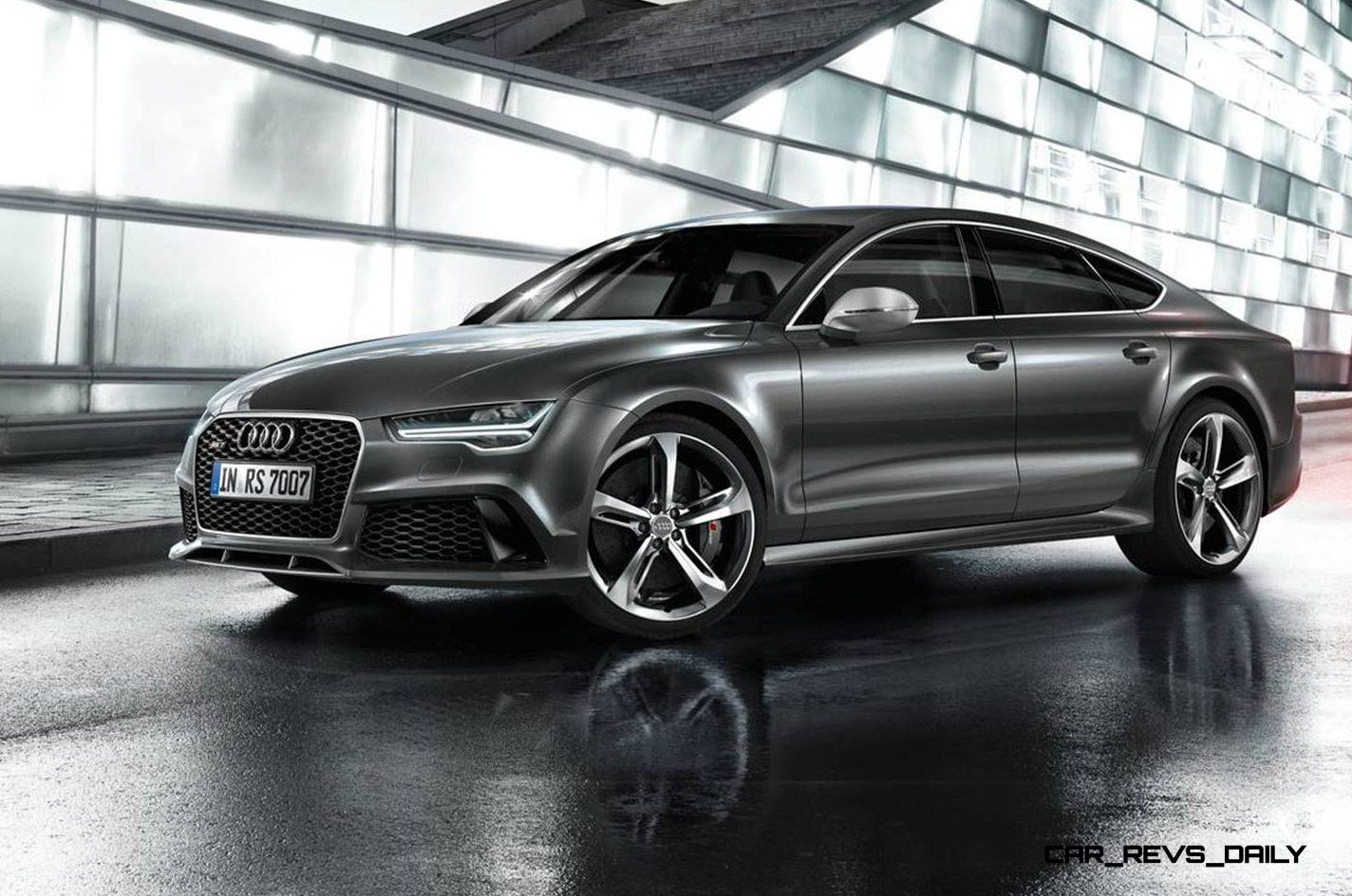 2016 Audi RS7 Makes Moscow Debut With Updated LEDs, Extra ...