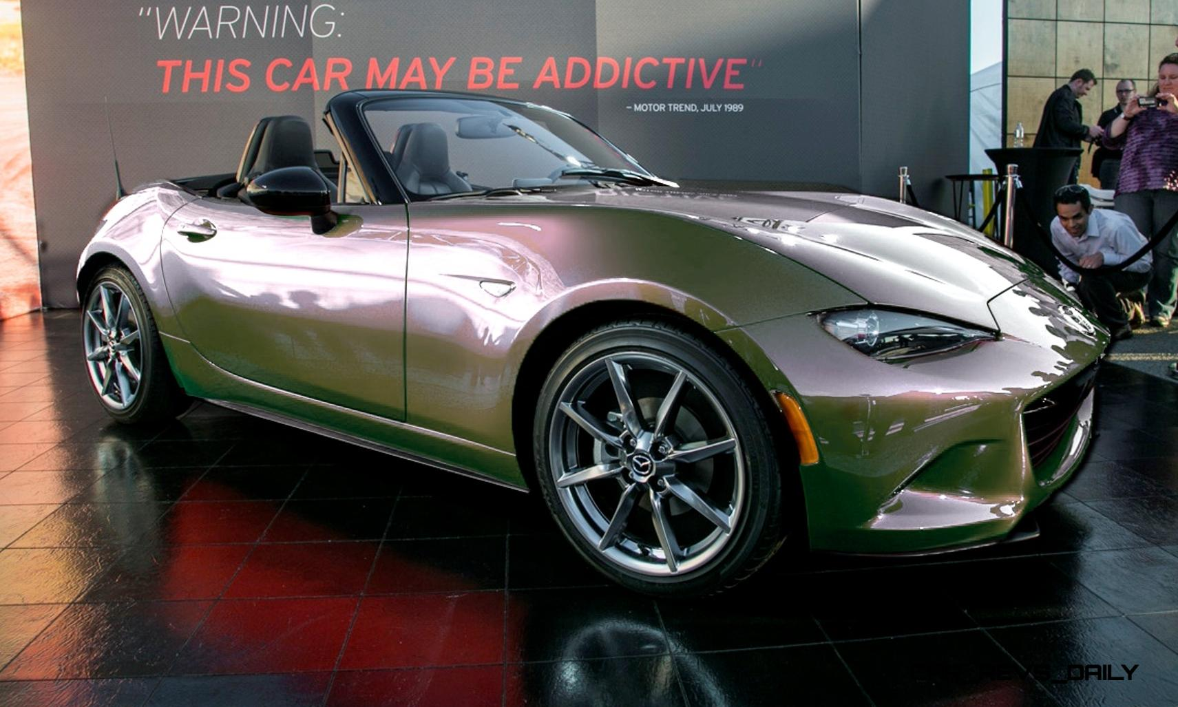 Car Revs Daily 2016 Mazda MX 5 Colorizer Shows Roadster Look