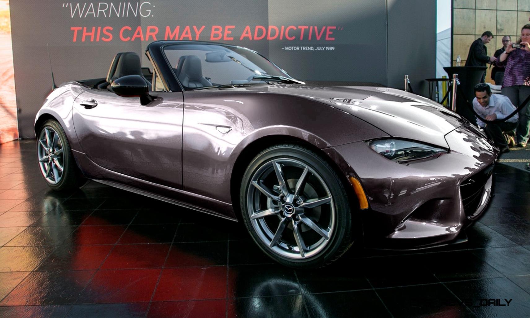 New car colors 2016 -  Car Revs Daily Com 2016 Mazda Mx 5 Colorizer Shows Roadster Look