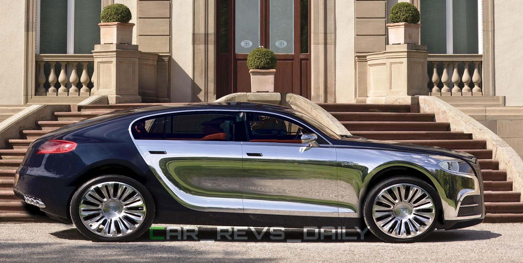 Rendered Rumors Bugatti Galibier Back In Pipeline As