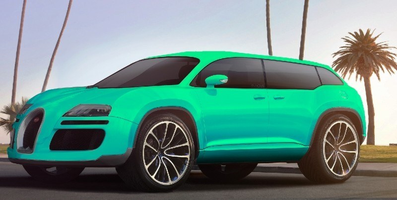 Car-Revs-Daily.com 2017 BUGATTI SUV Renderings 2