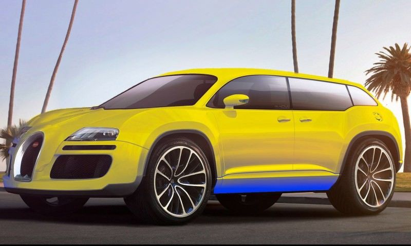 Car-Revs-Daily.com 2017 BUGATTI SUV Renderings 22