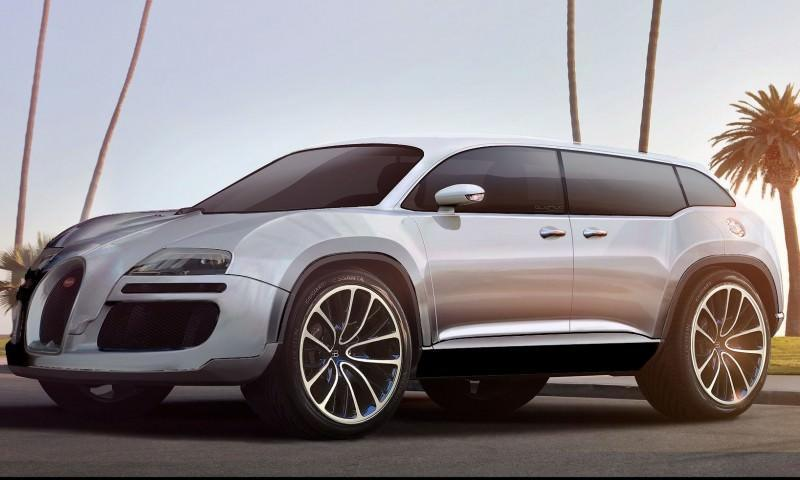 Car-Revs-Daily.com 2017 BUGATTI SUV Renderings 24