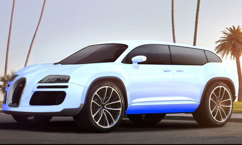 Car-Revs-Daily.com 2017 BUGATTI SUV Renderings 27
