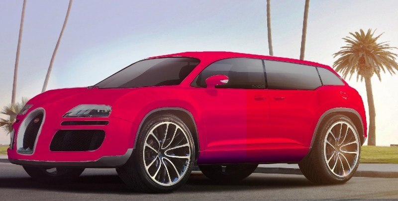Car-Revs-Daily.com 2017 BUGATTI SUV Renderings 6