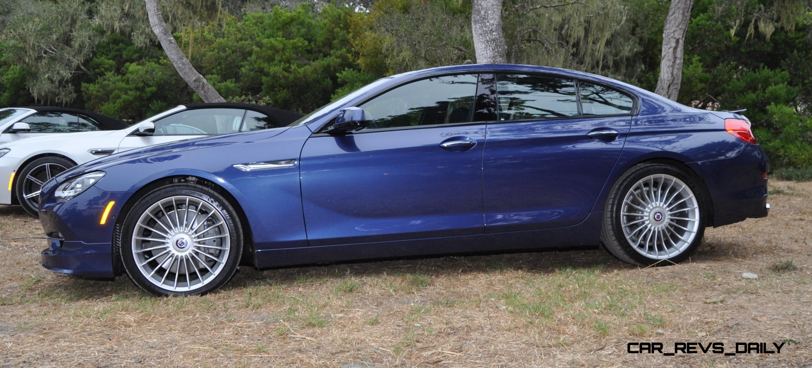 Car Revs Daily 37s 2015 BMW ALPINA B6 XDrive Gran Coupe 6