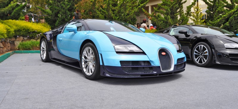 Car-Revs-Daily.com All Six Bugatti Veyron Legends Together In Pebble Beach 2014 10