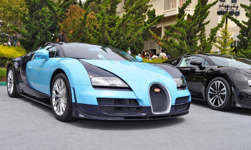 Car-Revs-Daily.com All Six Bugatti Veyron Legends Together In Pebble Beach 2014 11