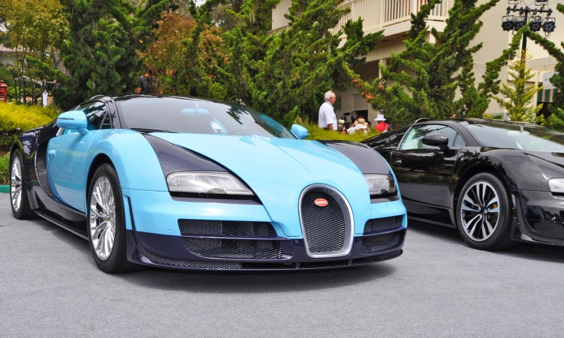 Car-Revs-Daily.com All Six Bugatti Veyron Legends Together In Pebble Beach 2014 12
