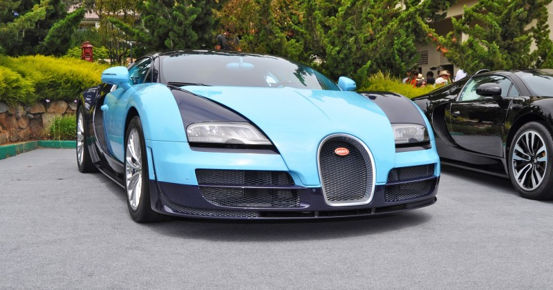 Car-Revs-Daily.com All Six Bugatti Veyron Legends Together In Pebble Beach 2014 13