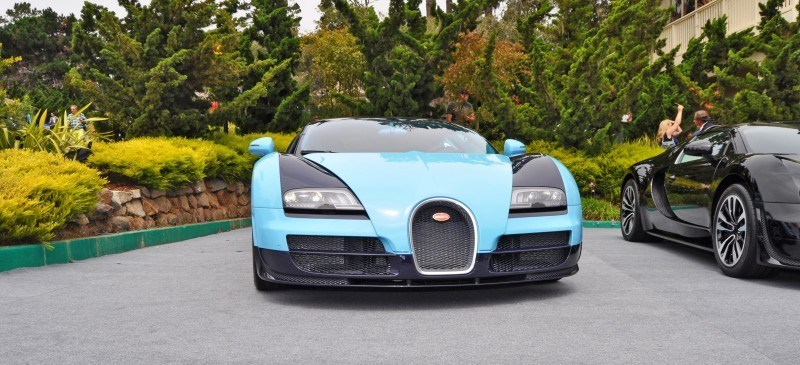 Car-Revs-Daily.com All Six Bugatti Veyron Legends Together In Pebble Beach 2014 15