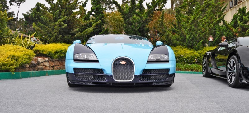 Car-Revs-Daily.com All Six Bugatti Veyron Legends Together In Pebble Beach 2014 17