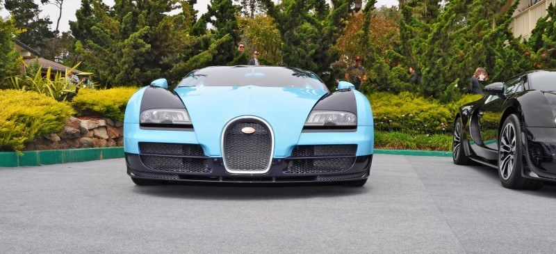Car-Revs-Daily.com All Six Bugatti Veyron Legends Together In Pebble Beach 2014 18
