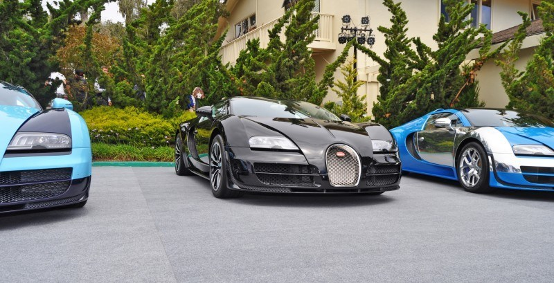 Car-Revs-Daily.com All Six Bugatti Veyron Legends Together In Pebble Beach 2014 20