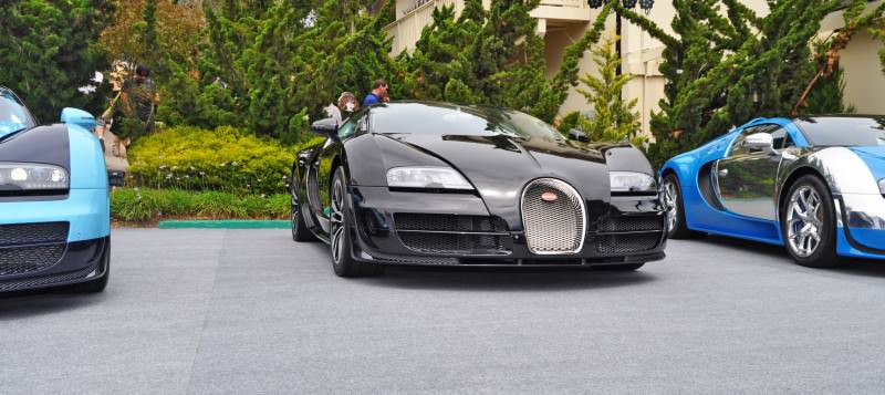 Car-Revs-Daily.com All Six Bugatti Veyron Legends Together In Pebble Beach 2014 21