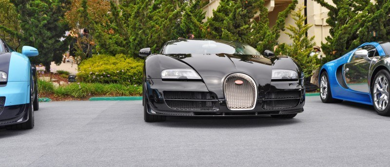 Car-Revs-Daily.com All Six Bugatti Veyron Legends Together In Pebble Beach 2014 23