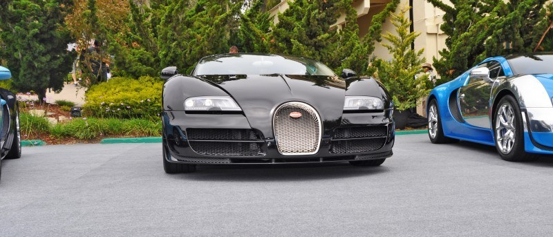 Car-Revs-Daily.com All Six Bugatti Veyron Legends Together In Pebble Beach 2014 24
