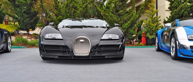 Car-Revs-Daily.com All Six Bugatti Veyron Legends Together In Pebble Beach 2014 27