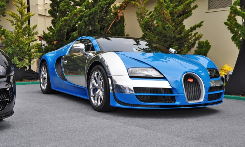 Car-Revs-Daily.com All Six Bugatti Veyron Legends Together In Pebble Beach 2014 28