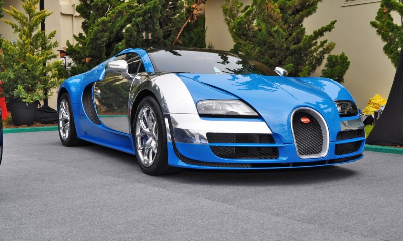 Car-Revs-Daily.com All Six Bugatti Veyron Legends Together In Pebble Beach 2014 29