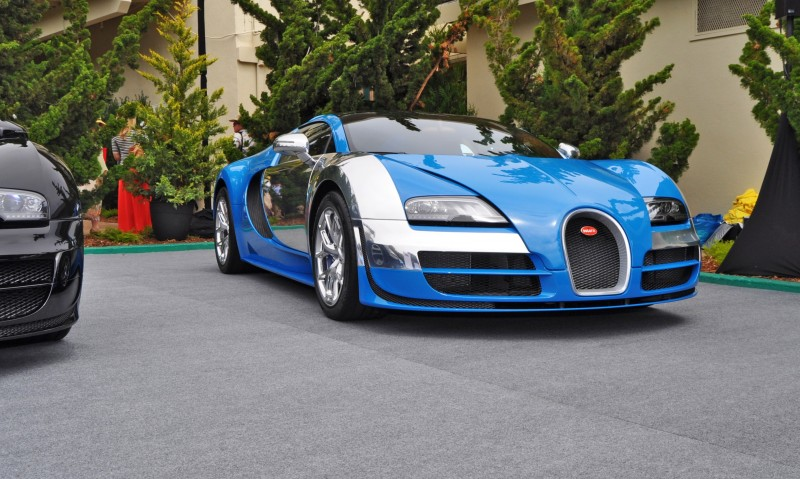 Car-Revs-Daily.com All Six Bugatti Veyron Legends Together In Pebble Beach 2014 30
