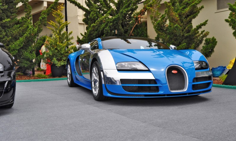 Car-Revs-Daily.com All Six Bugatti Veyron Legends Together In Pebble Beach 2014 31