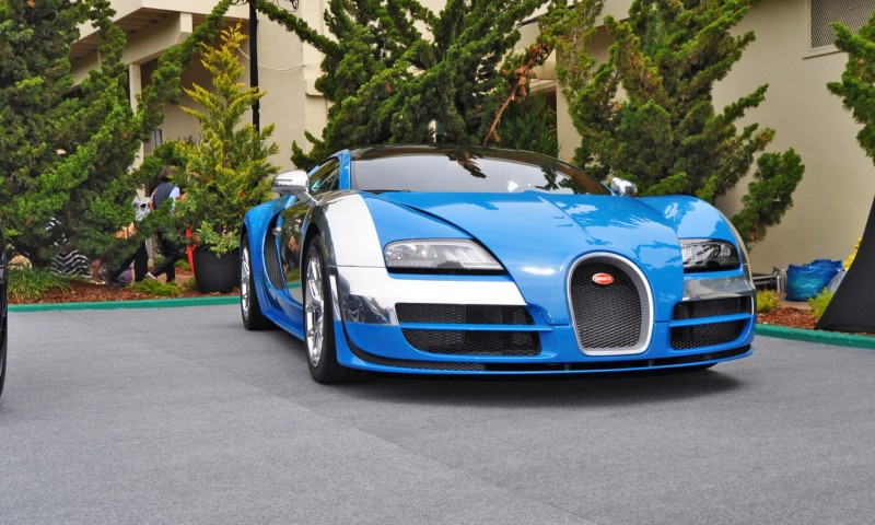 Car-Revs-Daily.com All Six Bugatti Veyron Legends Together In Pebble Beach 2014 32