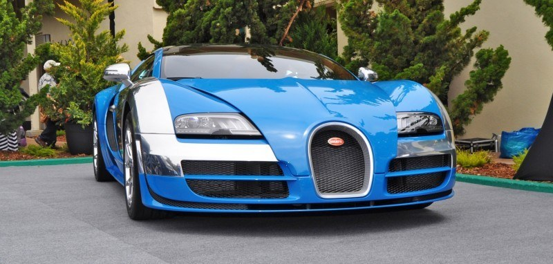 Car-Revs-Daily.com All Six Bugatti Veyron Legends Together In Pebble Beach 2014 33