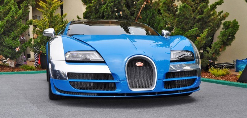 Car-Revs-Daily.com All Six Bugatti Veyron Legends Together In Pebble Beach 2014 34