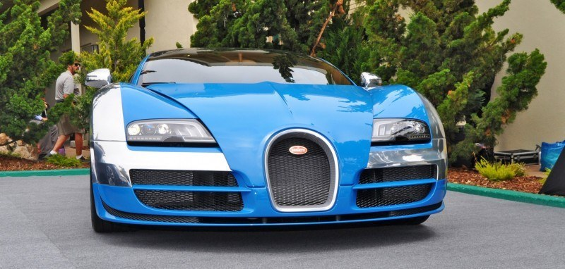 Car-Revs-Daily.com All Six Bugatti Veyron Legends Together In Pebble Beach 2014 35