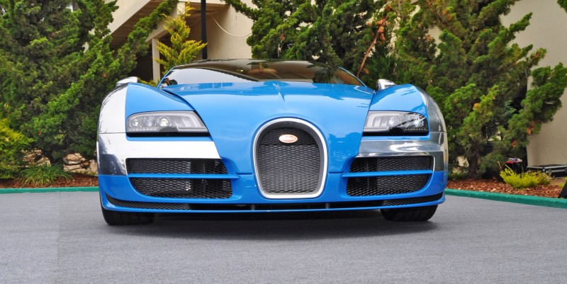 Car-Revs-Daily.com All Six Bugatti Veyron Legends Together In Pebble Beach 2014 37
