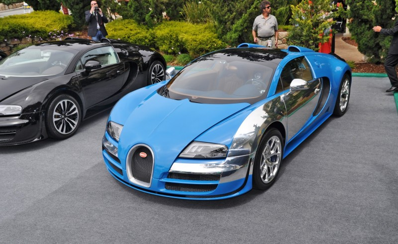 Car-Revs-Daily.com All Six Bugatti Veyron Legends Together In Pebble Beach 2014 38