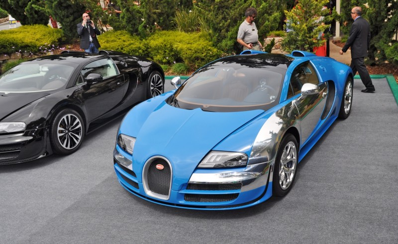 Car-Revs-Daily.com All Six Bugatti Veyron Legends Together In Pebble Beach 2014 39