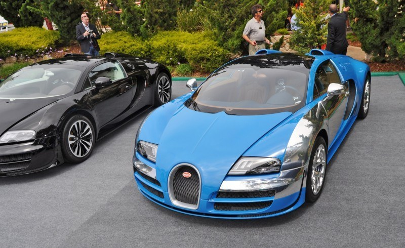 Car-Revs-Daily.com All Six Bugatti Veyron Legends Together In Pebble Beach 2014 40