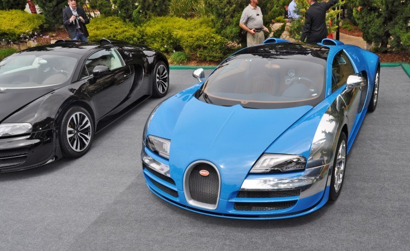 Car-Revs-Daily.com All Six Bugatti Veyron Legends Together In Pebble Beach 2014 41