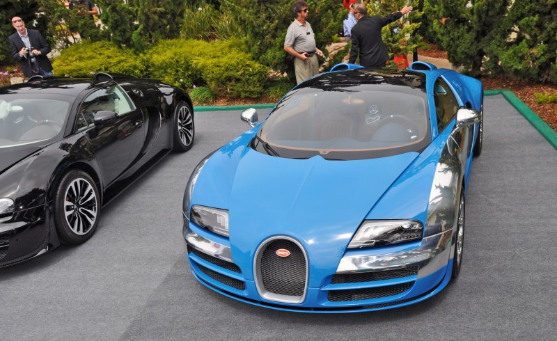 Car-Revs-Daily.com All Six Bugatti Veyron Legends Together In Pebble Beach 2014 42
