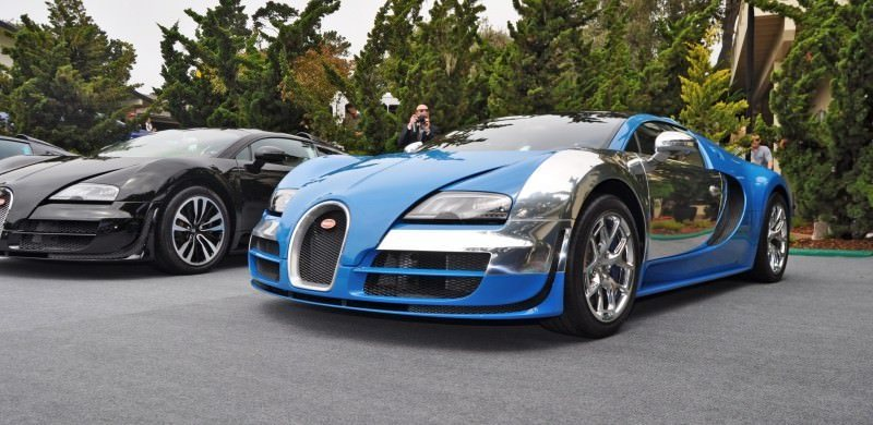 Car-Revs-Daily.com All Six Bugatti Veyron Legends Together In Pebble Beach 2014 43