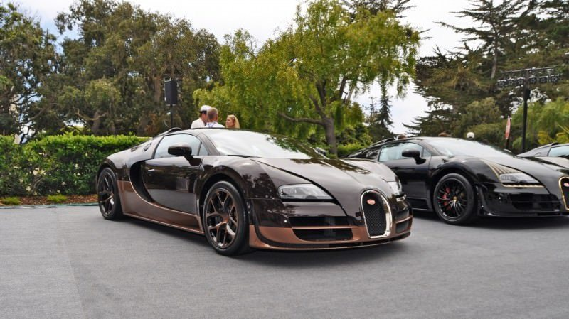 Car-Revs-Daily.com All Six Bugatti Veyron Legends Together In Pebble Beach 2014 44