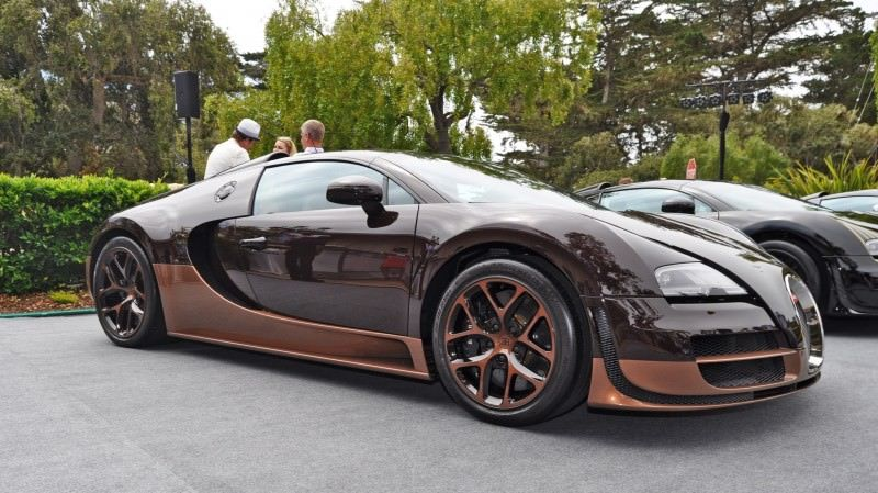 Car-Revs-Daily.com All Six Bugatti Veyron Legends Together In Pebble Beach 2014 47