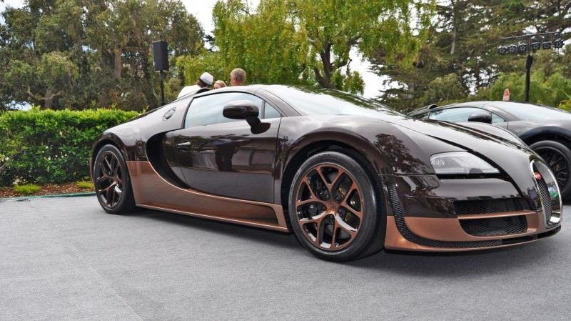 Car-Revs-Daily.com All Six Bugatti Veyron Legends Together In Pebble Beach 2014 48
