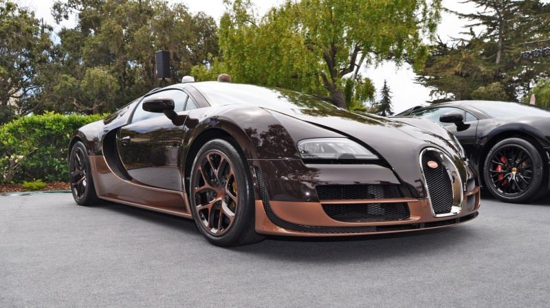 Car-Revs-Daily.com All Six Bugatti Veyron Legends Together In Pebble Beach 2014 51