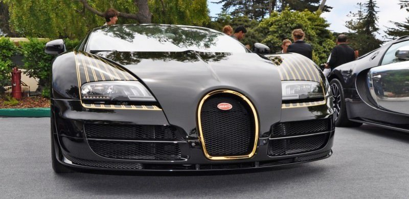 Car-Revs-Daily.com All Six Bugatti Veyron Legends Together In Pebble Beach 2014 52