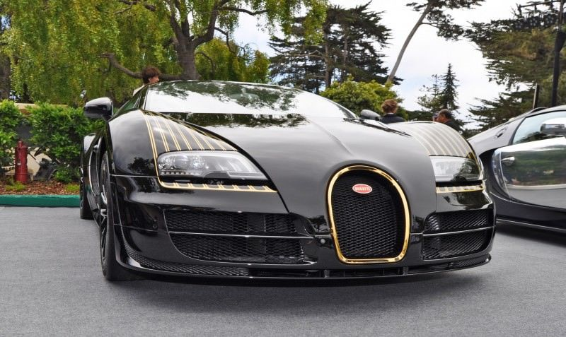 Car-Revs-Daily.com All Six Bugatti Veyron Legends Together In Pebble Beach 2014 54