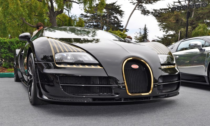 Car-Revs-Daily.com All Six Bugatti Veyron Legends Together In Pebble Beach 2014 55